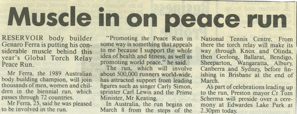 Herald Sun Australia,  Charity Run