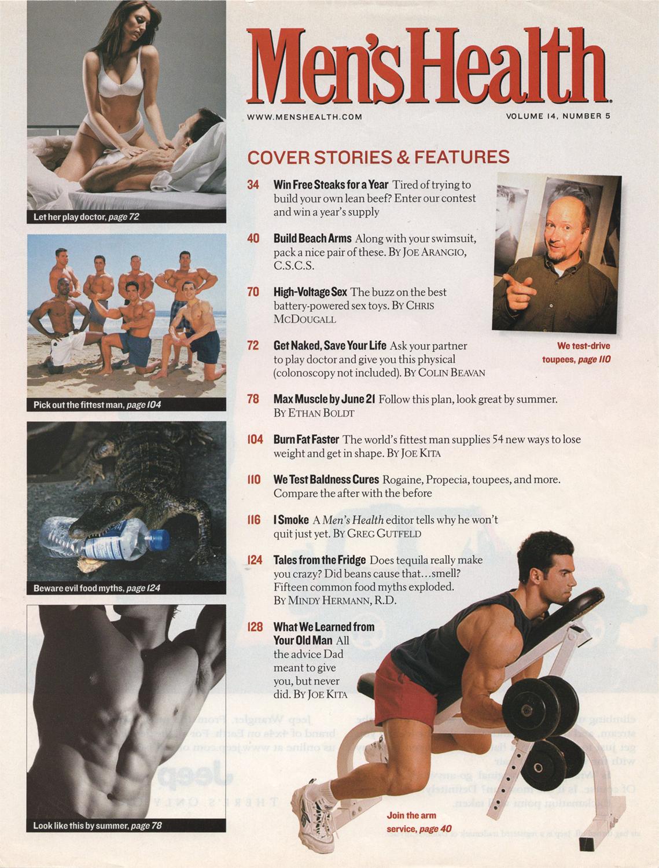 Men's Health Magazine ,Arm Routine