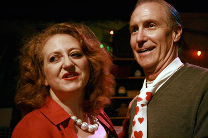 Lorella Loftus, Michael Hankin. Photo by Bonnie Cullum.