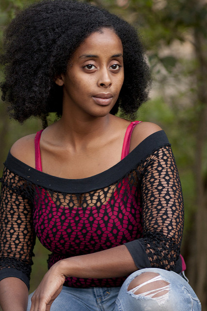 Senait Fessahaye. Photo by Kimberley Mead.