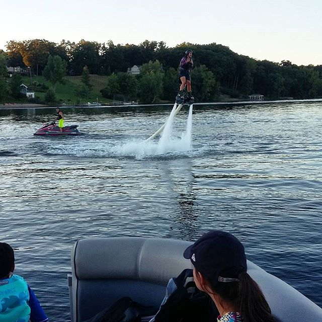 Another talented first timer! Call 518-EXTREME or 845-EXTREME to book your next flight #extremehydroflight #flyboard #flyboarding #upstateny #hydroflight