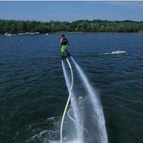 Awesome photo taken by @hoveravp #hydroflight #flyboarding #saratoga #saratogasprings
