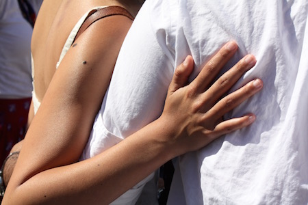"""""""The gift is contact, sensuality: you will be touching what I have touched, a third skin unites us.""""―Roland Barthes"""