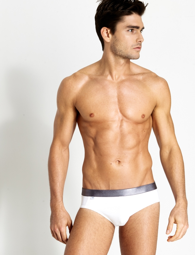 The Charcoal briefs. Slimming…
