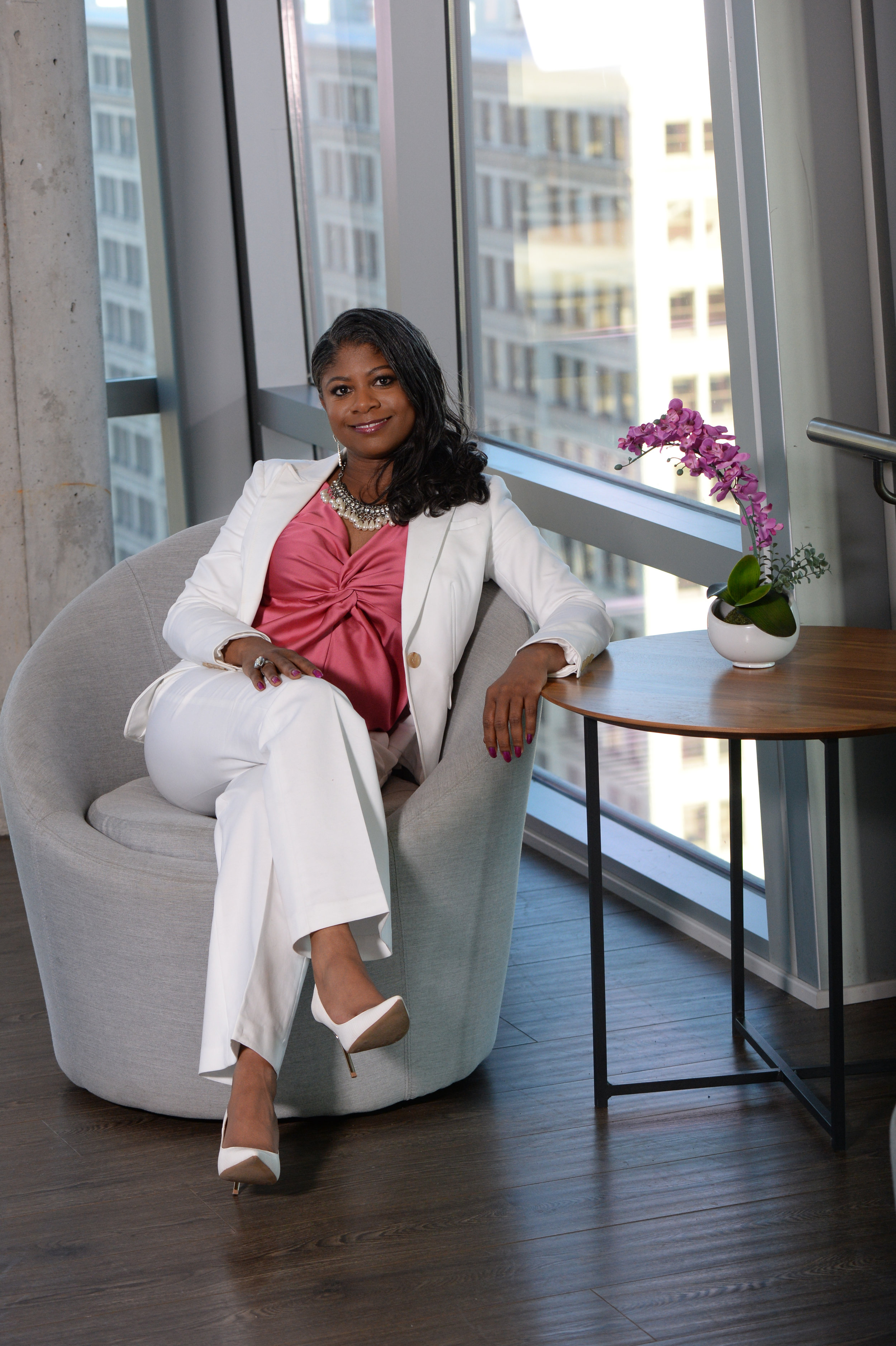 Tamiko Cuellar, CEO & Founder - Dynamite in a small package, fearless and inspiring are just a few words to describe Tamiko Cuellar, the CEO and Founder of Pursue Your Purpose LLC, a global coaching, consulting and training firm for emerging entrepreneurs, corporate intrapreneurs, and leaders. She is a proven leader in the international business community and has been invited to speak at the U.S. Embassy, the University of Namibia (Africa), the University of South Africa, Microsoft, First Bank, the City of St. Louis, the Chamber of Commerce, and more. She has been a guest contributor and feature on Forbes.com, The Huffington Post, The Business Journals, Good Morning Namibia, Wake Up Nigeria, One Africa TV, and several other international media outlets. She oversees a team in 5 countries and is also the President & Founder of Africa Trade Partners LLC for exporters from Africa to the U.S.Tamiko was nominated for the 2013 Business Influencer Award and in 2016 recognized by The Women's Business Journals as a Woman on the Move. In 2016-17, she was appointed as a Mentor to emerging entrepreneurs in Africa as part of Tony Elumelu's Entrepreneurship Programme. In addition to being an International Business Strategist and speaker, Tamiko is also an academic, having taught as a formerAdjunct Professor of Entrepreneurship at City Vision University. She has conducted research on Gen Z in global entrepreneurshipand in 2019, she was selected as one of the prestigious Fulbright Specialists by the United States government and assigned to help launch the first entrepreneurship incubator program at the University of Namibia in Africa.She is a proud member of the Forbes Coaches Council.