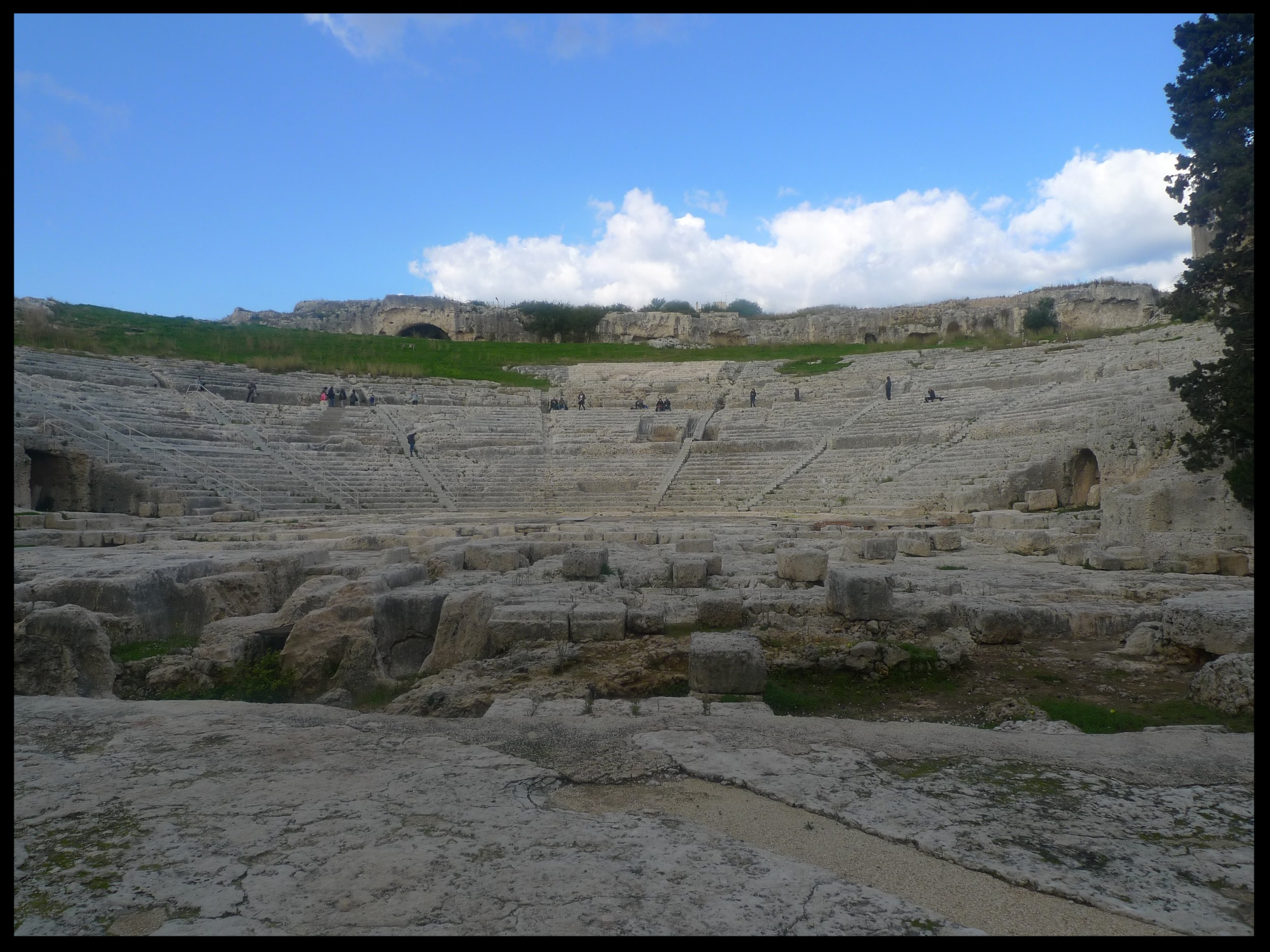 Greek theater at Neapolis