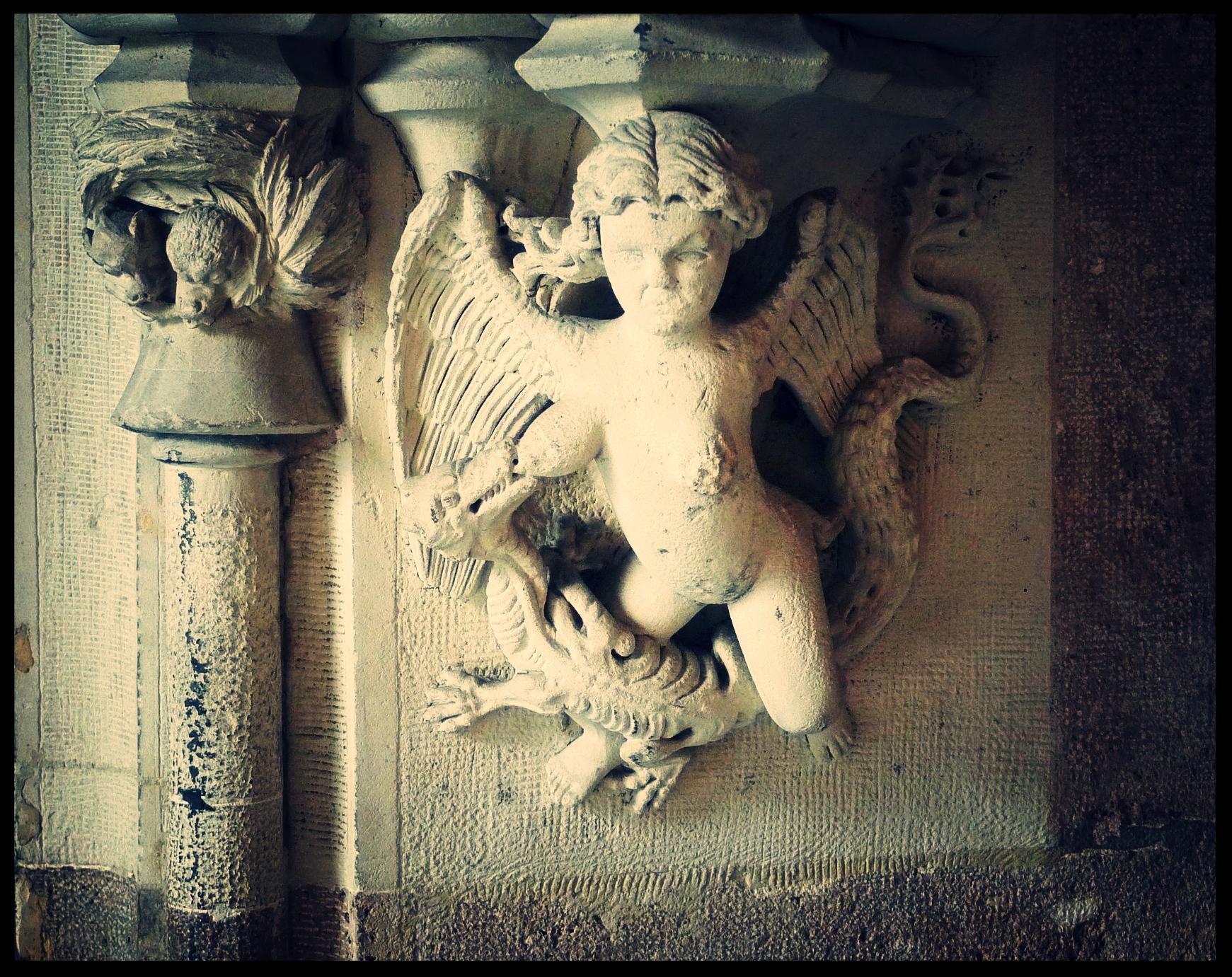 Detail in La Lonja de la Seda