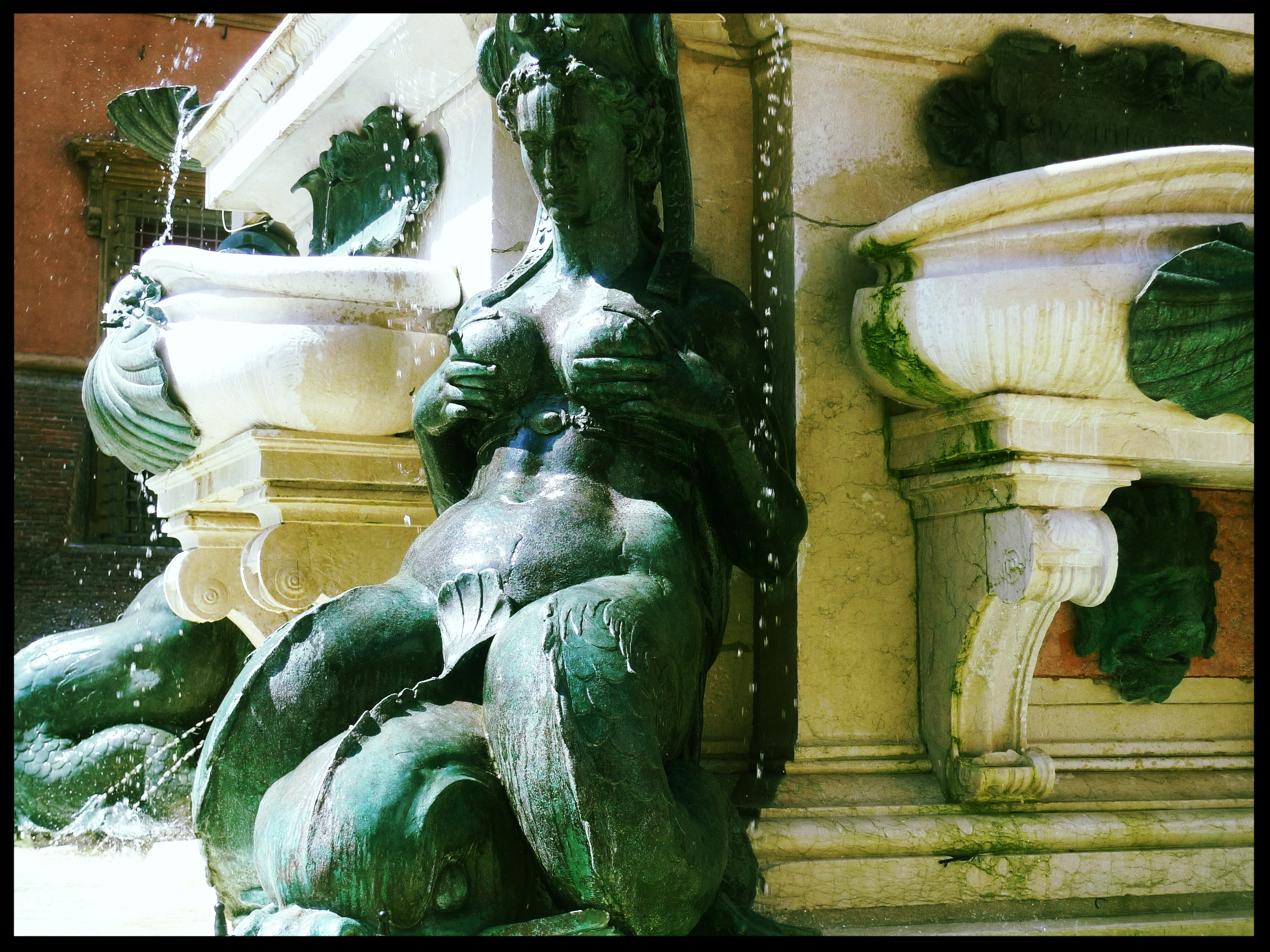 Detail of Fountain of Neptune