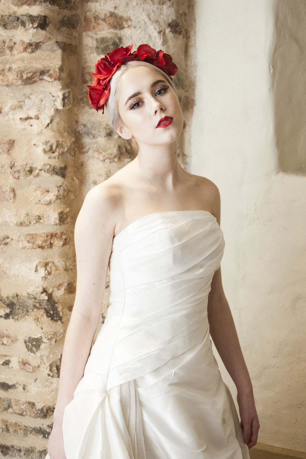 fashion forward ethically styled bride