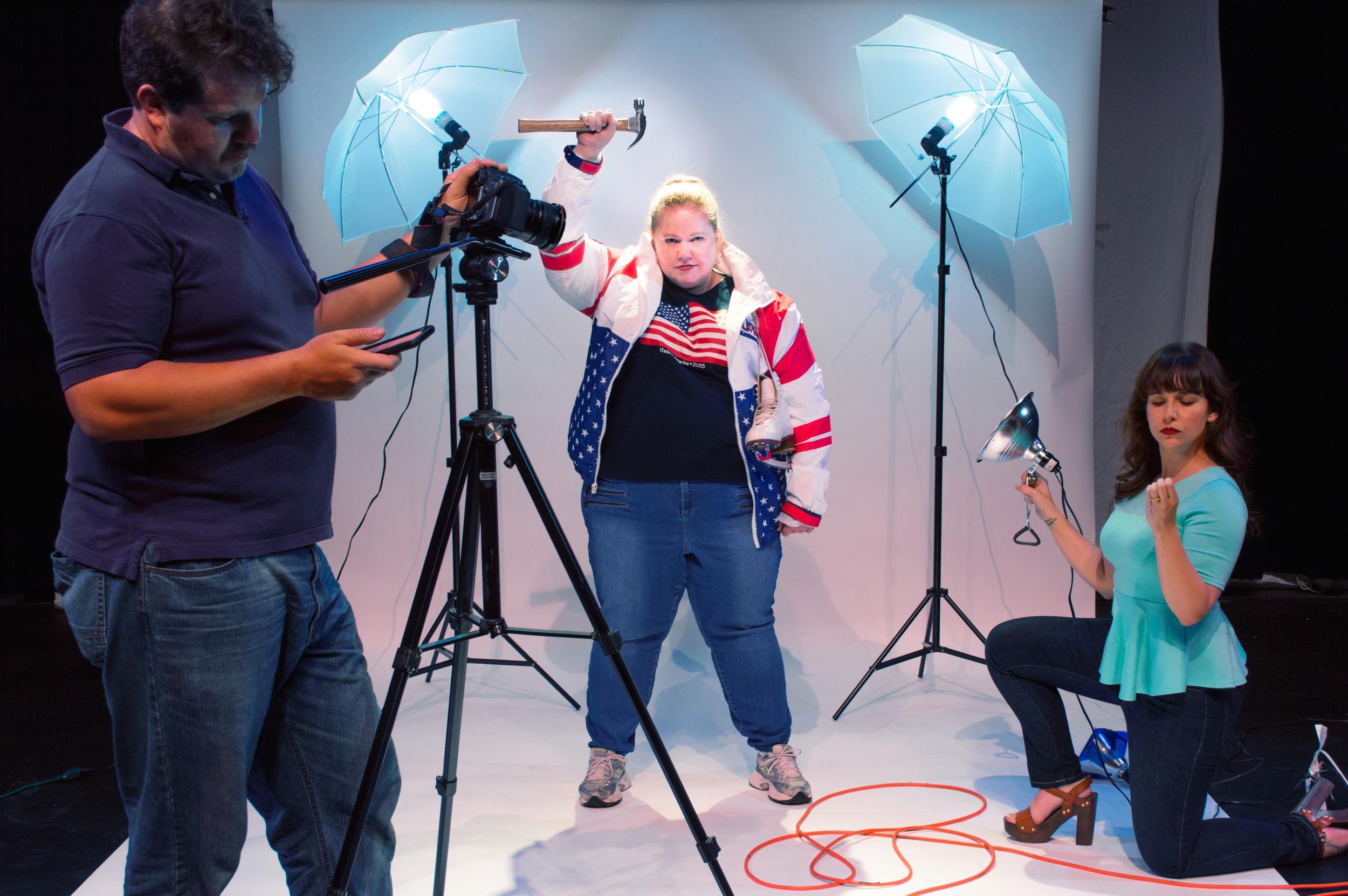 The Ice Treatment  by Nate Eppler  | Promo Photo | Actors Bridge Ensemble