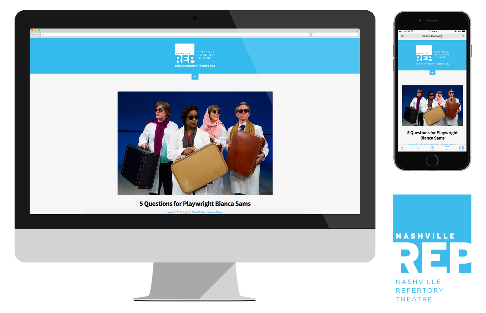 Nashville Repertory Theatre's Blog | Custom Made Template, Wordpress, CMS, Responsive, SEO Optimized