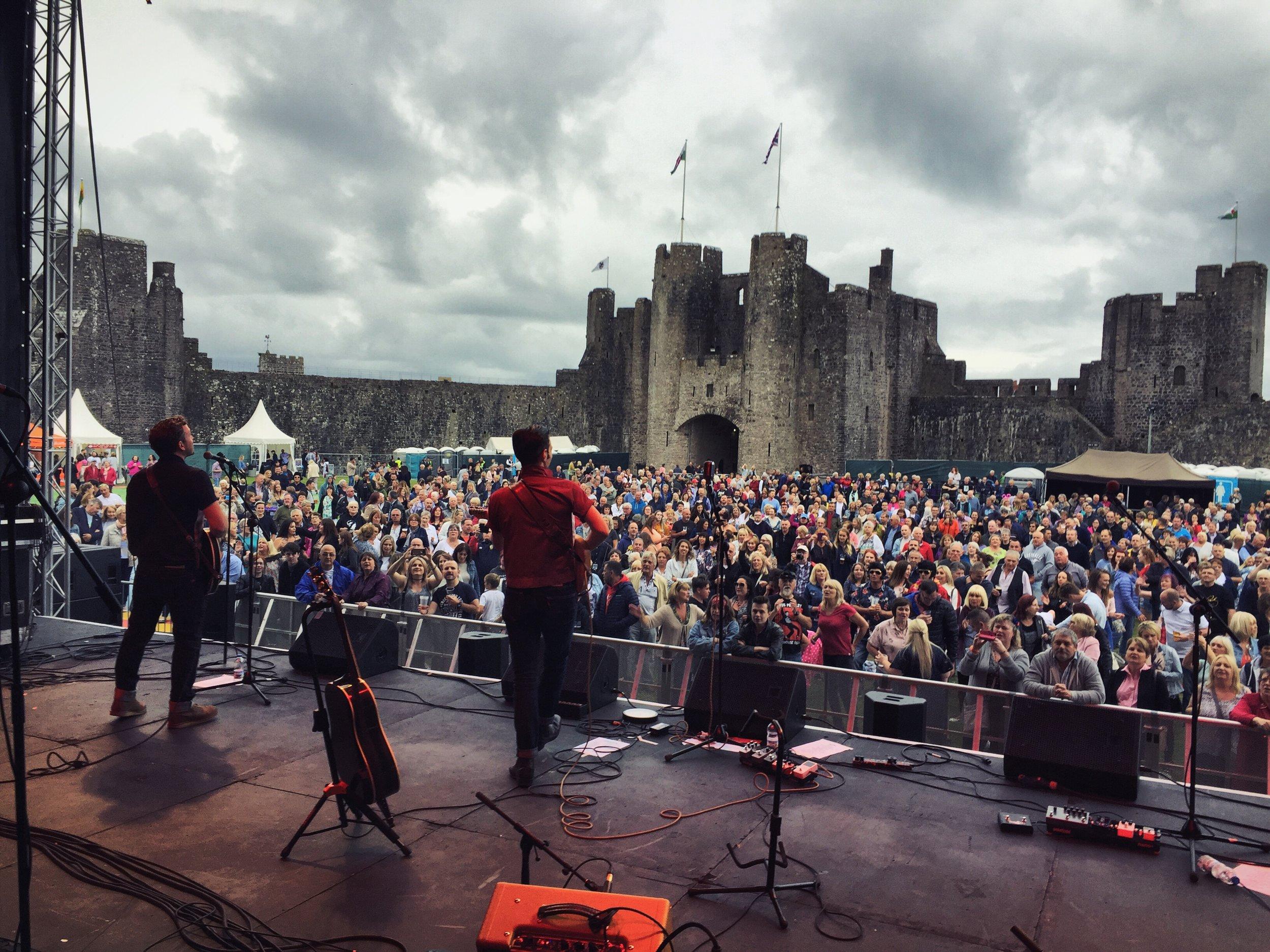 The Bluejays Pembroke Castle.JPG