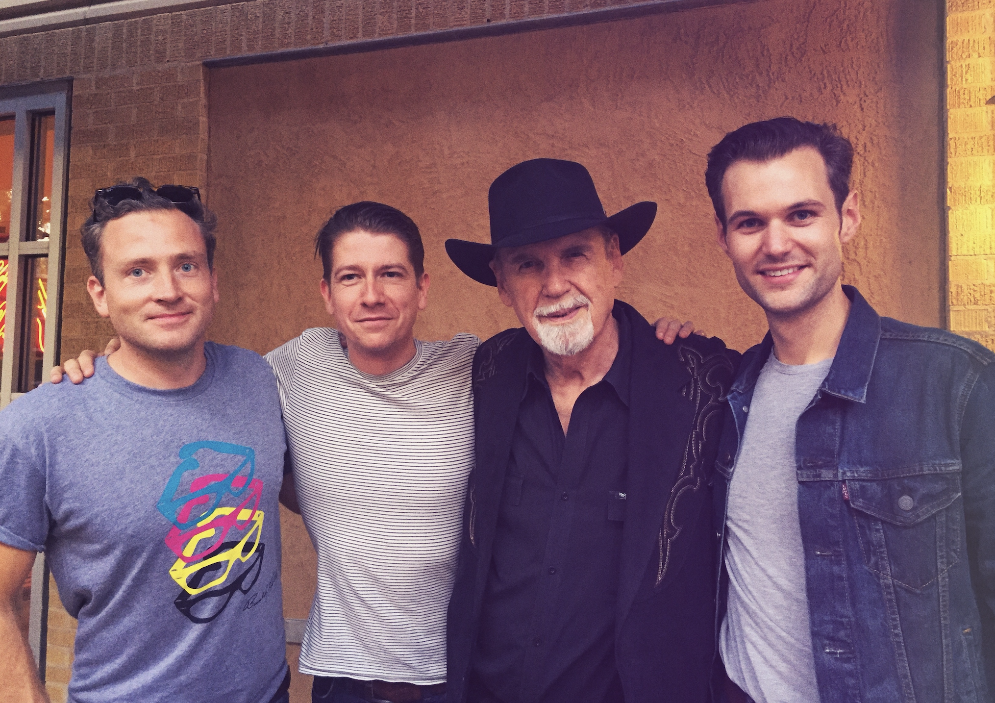 The Bluejays with Duane Eddy at the Buddy Holly Center, Lubbock Texas.