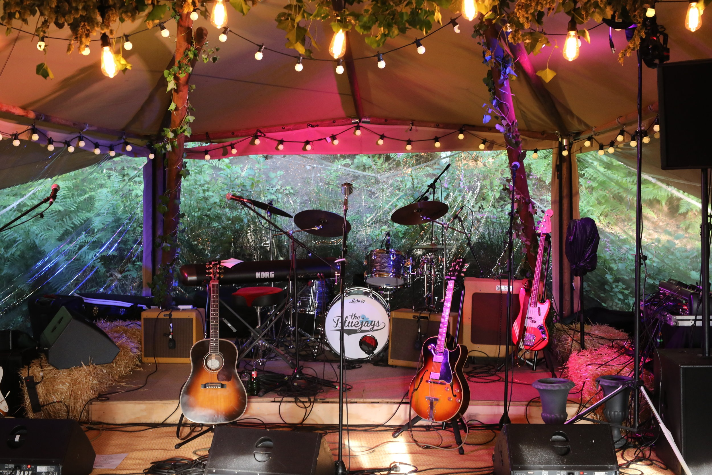 If guitars and tipis are your thing, it really doesn't get any better than this.