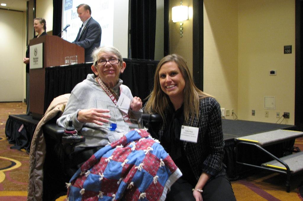 2014 Personal Achievement Award - Awarded to: Sandy Gaskins