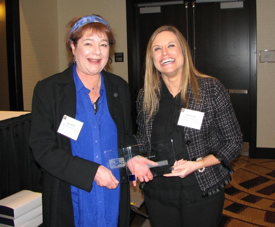 2014 Professional Award - Awarded to Jane Wiles