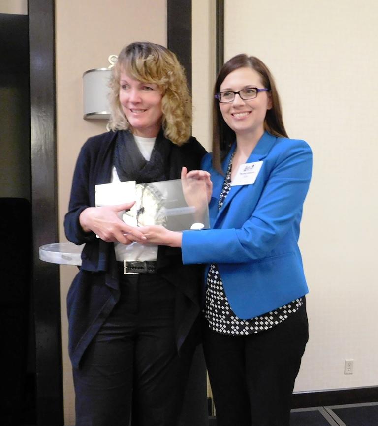2016 Professional Award - Awarded to: Renee Wright