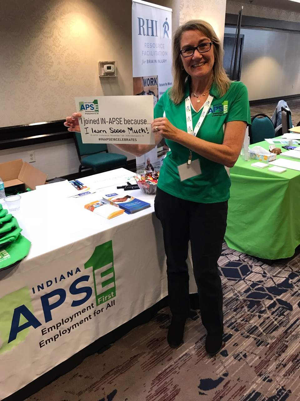 """Welcome toIndiana APSE - We are a membership organization that promotes and expands quality, community employment outcomes of choice for all people with disabilities.We believe that """"Employment First is integrated community employment at competitive wages as the first and preferred outcome for ALL people with disabilities.""""Learn More"""