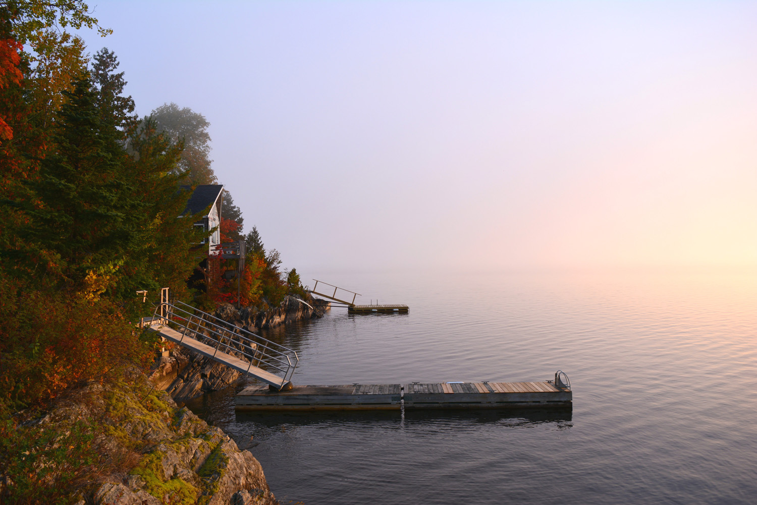 Early Morning View of the Dock (front)