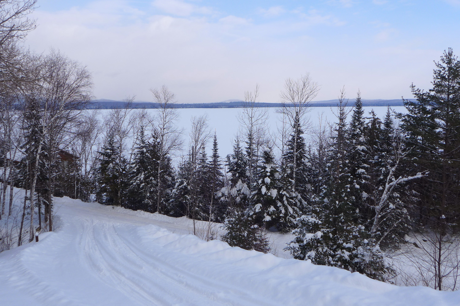 Winter View from Deck