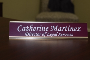 Catherine Martinez, Director of Legal Services
