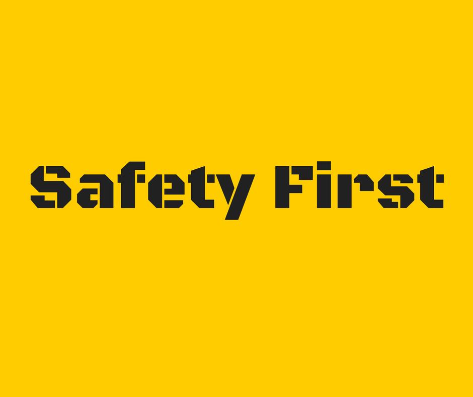 Safety First, Savvy Girlfriday