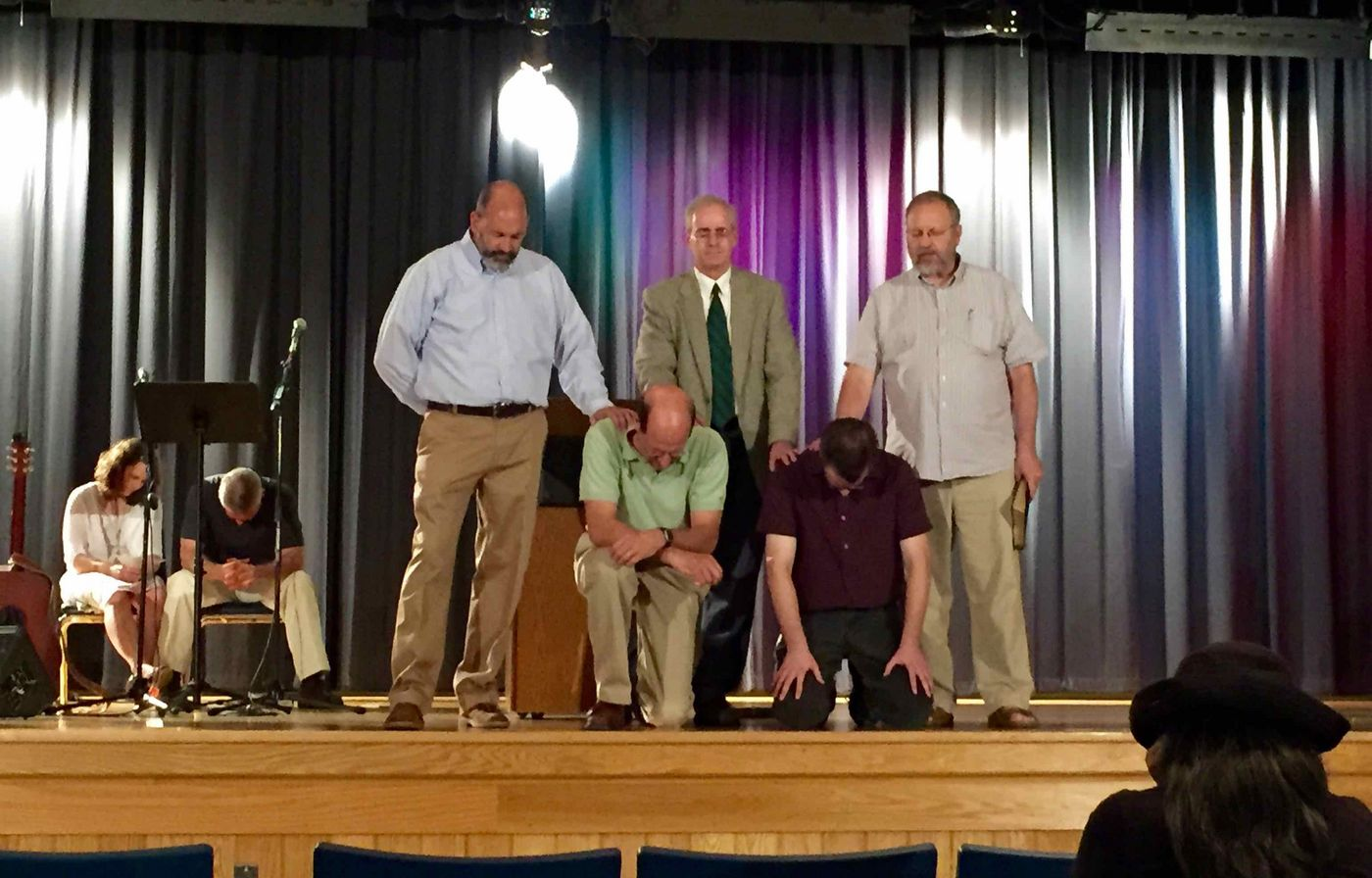 Appointing Deacons at WBC