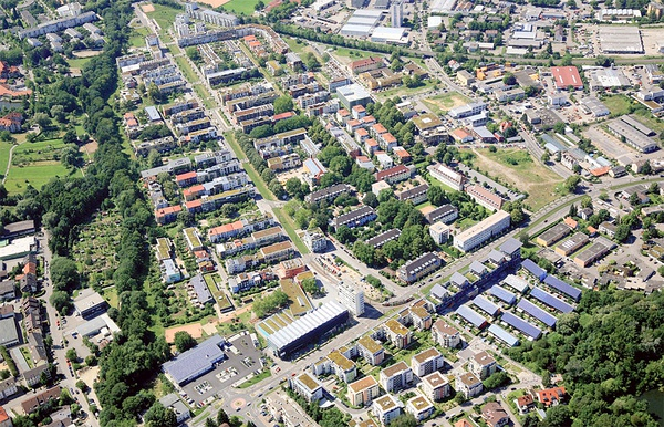 "8. CAR CONTROL   Every city should have a strategy to cap car use. Where high-quality transit exists, there should be limits on parking. Car control is a key strategy in Vauban, Germany. In Vauban, 160 out of 1,000 citizens have a car and only 20% of trips are taken by private car. 81% of residents say that life without a car is ""very easy"" or ""easy."""