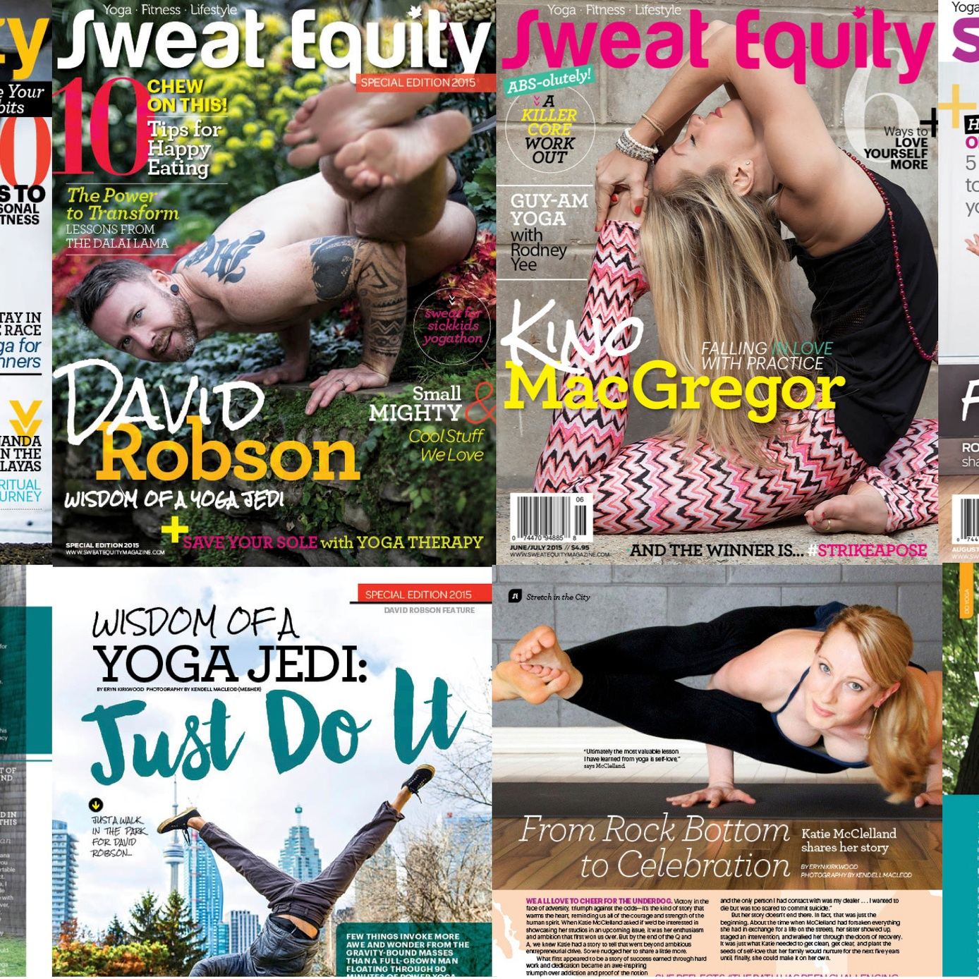 PUBLICATION - We have been published in a few Canadian magazines and have gotten to photograph some amazing people