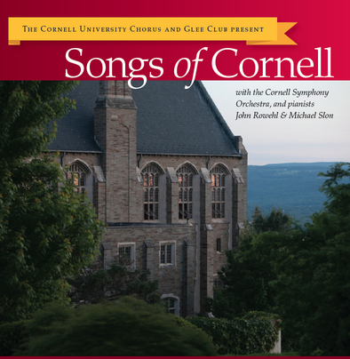 Songs of Cornell CD on Sale!