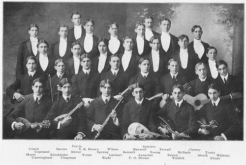 The Glee, Banjo, and Mandolin Club