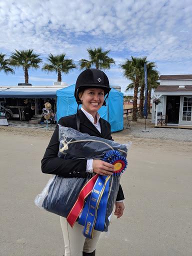 Jessie White, A/O jumper champion, Week 7, Thermal (2019)