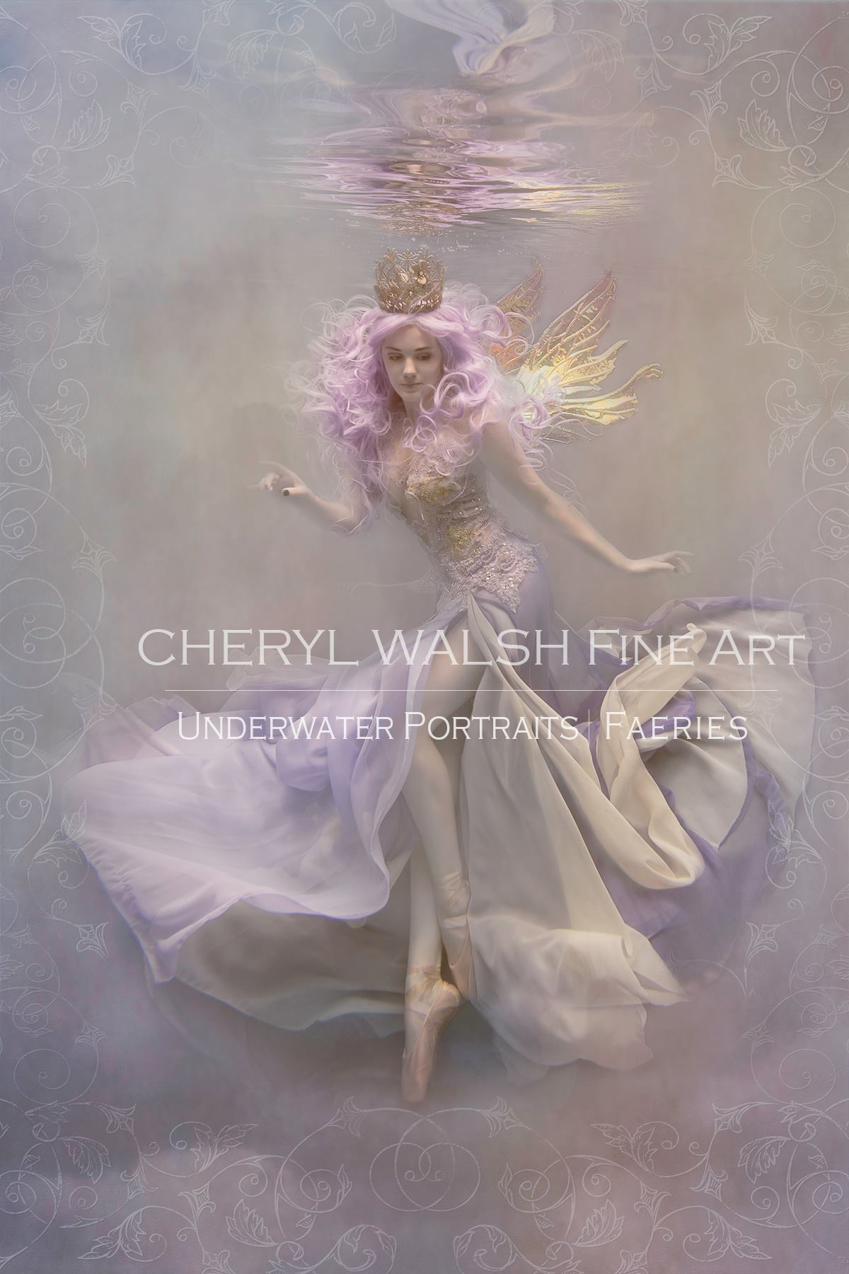 Mysterious Love Fairy by Cheryl Walsh
