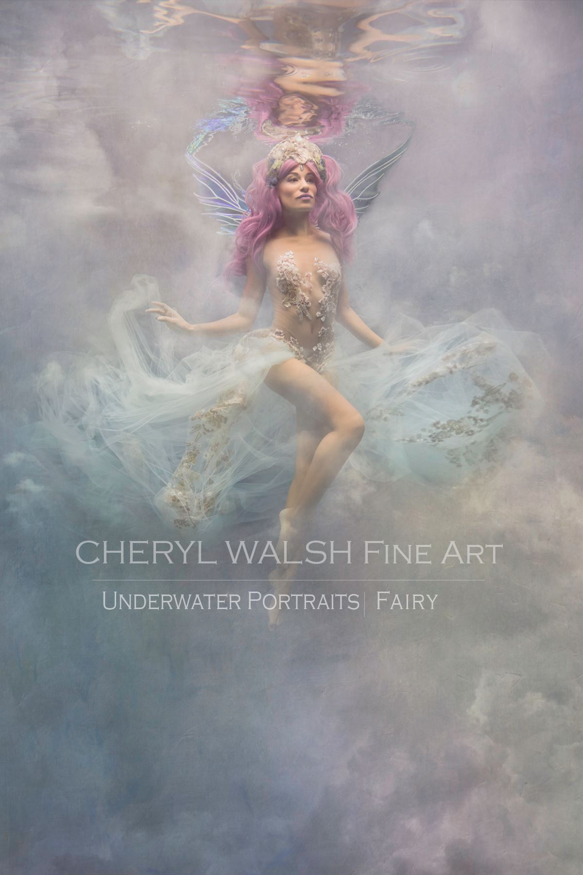 Storm Fairy in Serena Wings by Cheryl Walsh Fine Art Photography