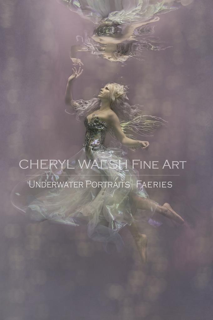 Amethystine Fairy in Thistle Wings by Cheryl Walsh Fine Art