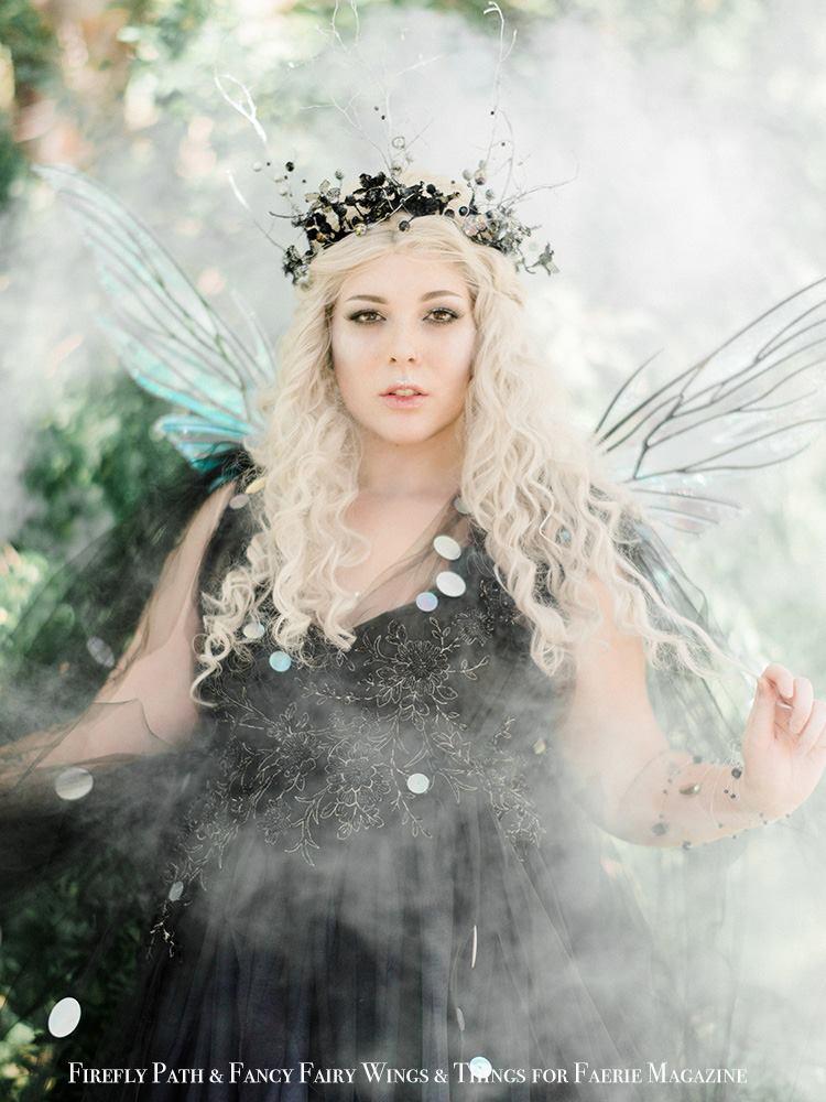 Cobweb Fairy Dre Ronayne for Faerie Magazine