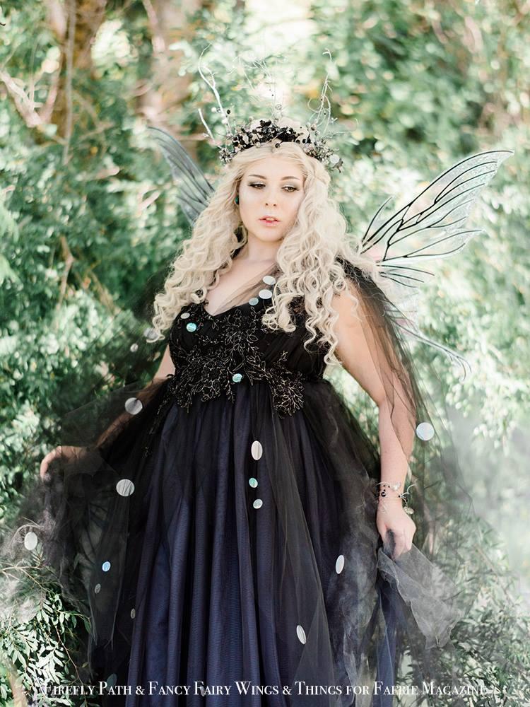 'Cobweb Fairy' Dre Ronayne for Faerie Magazine 2