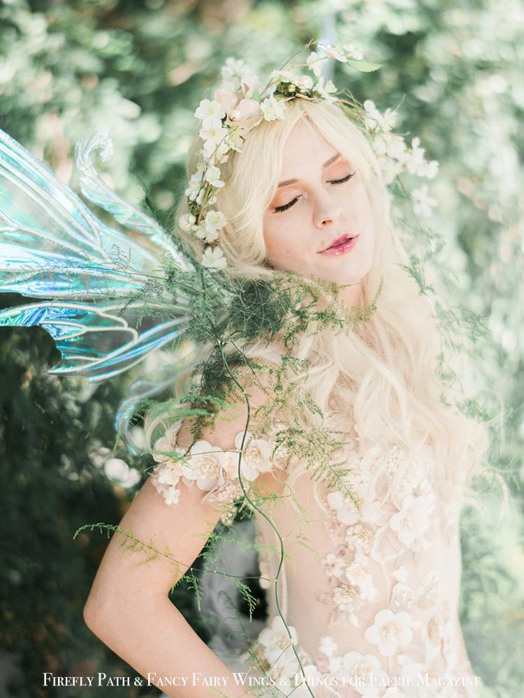 Peasblossom Fairy Jaden LeBel for Faerie Magazine