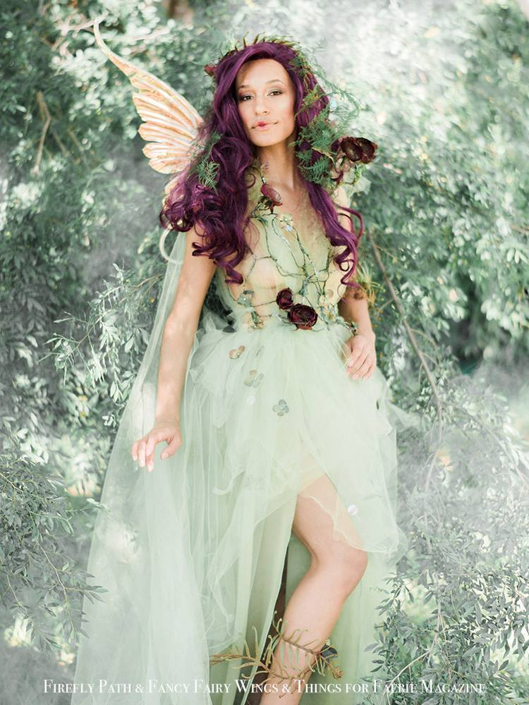 Mustard Seed Fairy Vanessa Walton for Faerie Magazine