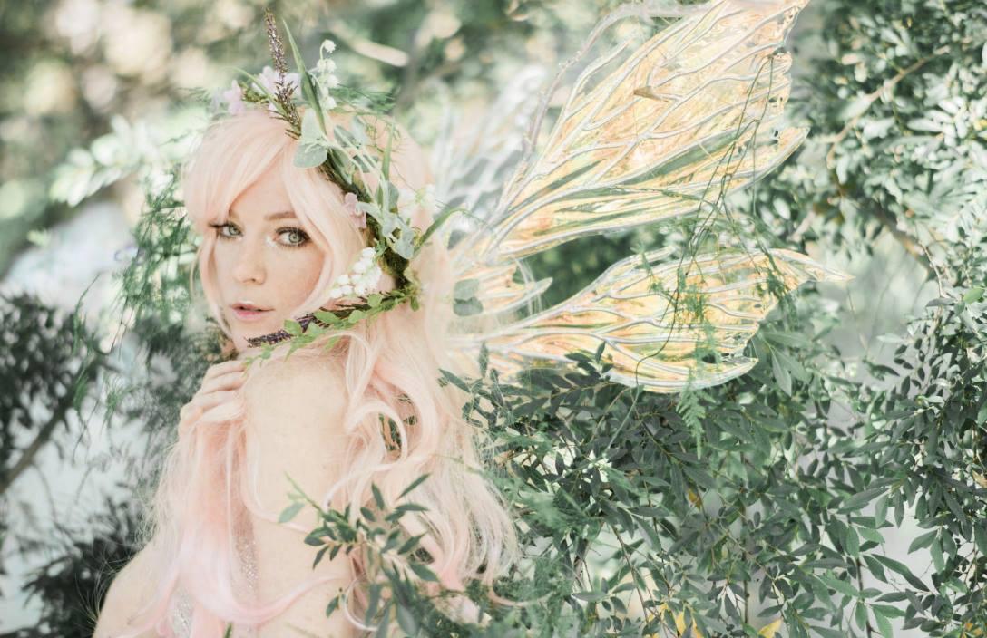Peachblossom Fairy Jessica Dru for Faerie Magazine