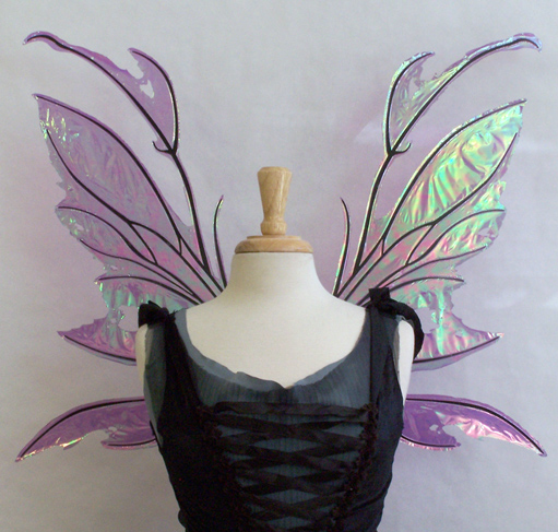 Kira Fairy Wings Front