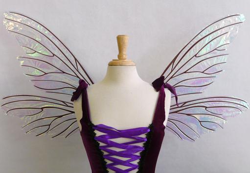 Teasel Fairy Wings Clear