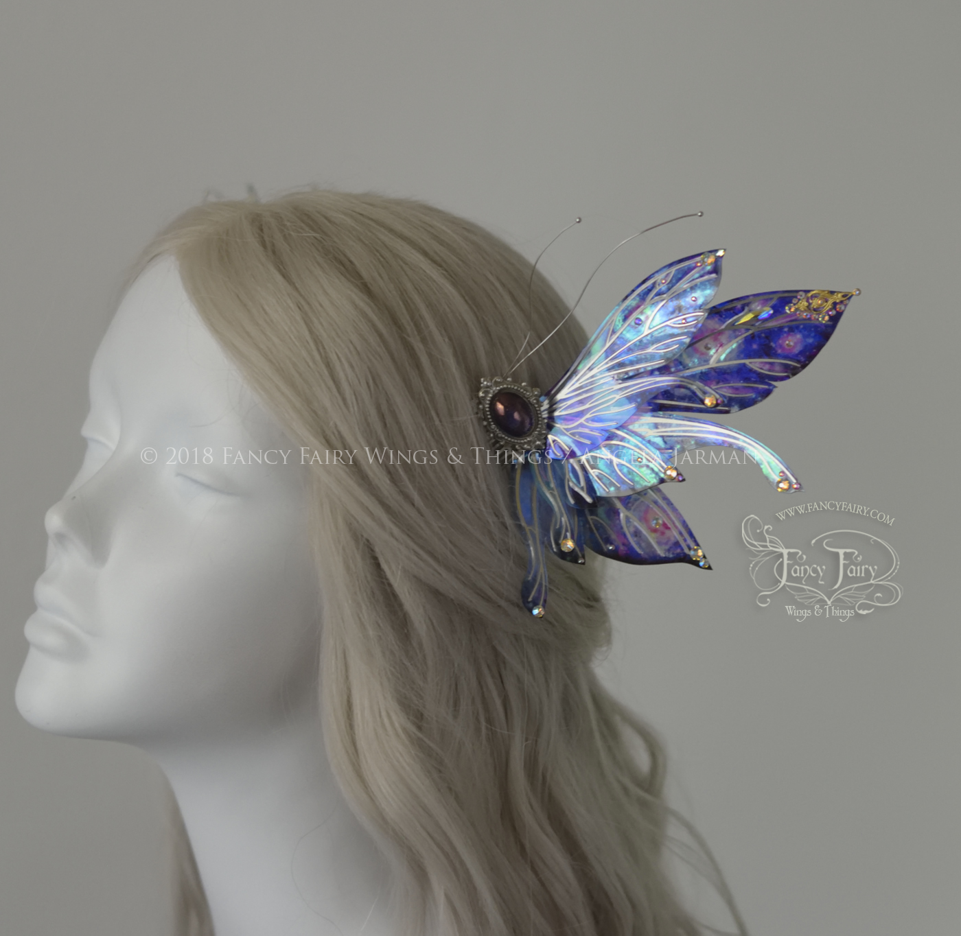 Stellar Salome Winged Fairy Combs
