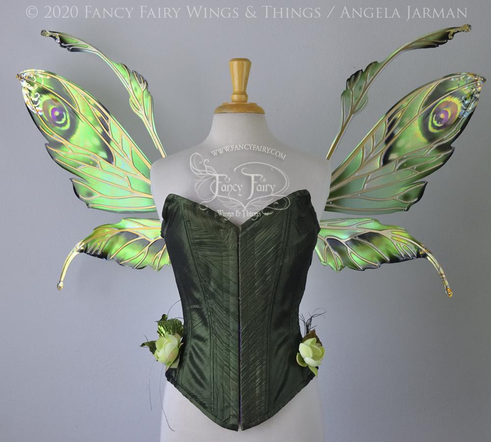 Steampunk Absinthe Fairy News Fancy Fairy Wings Things