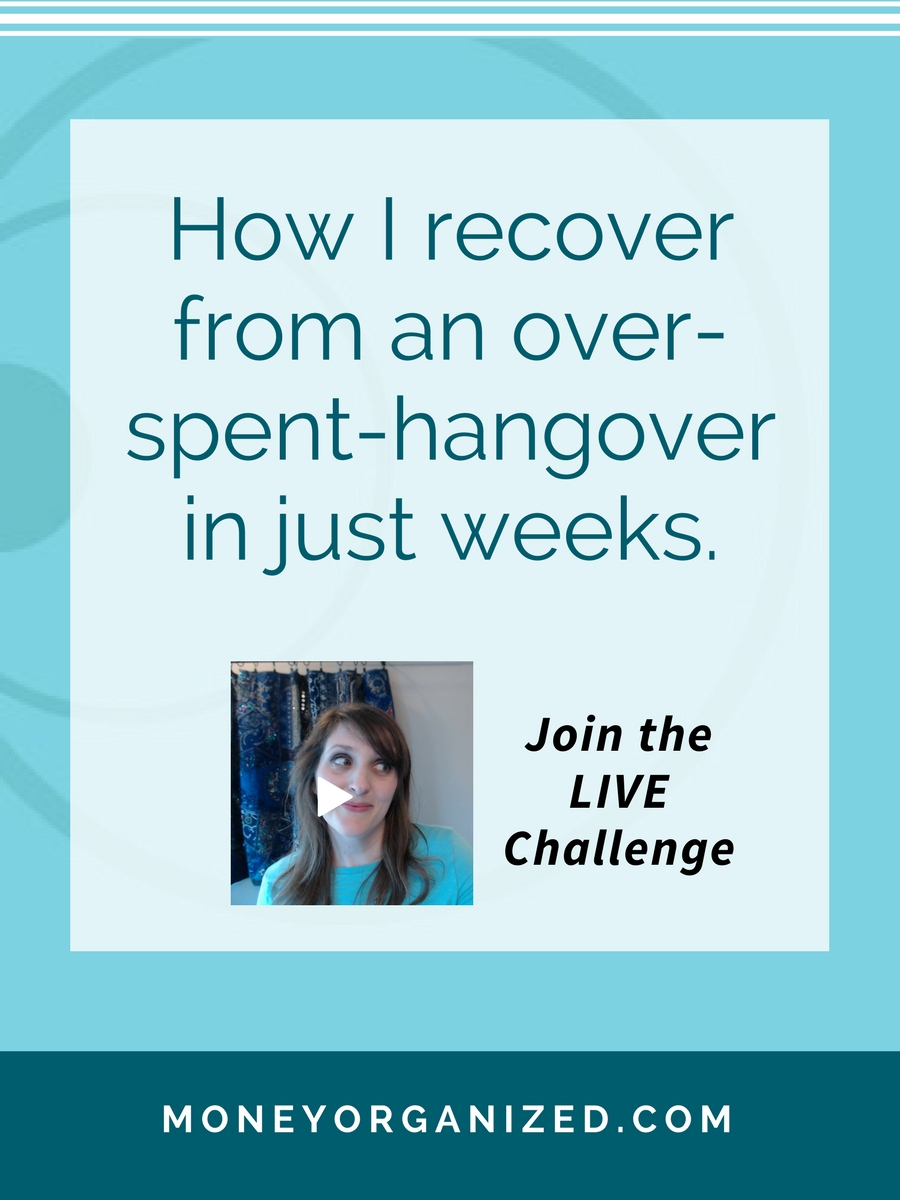 Over do it during a holiday or school break? Need to save quickly for a sudden expense? Try this Challenge on for size! And you can join the LIVE event for Free.