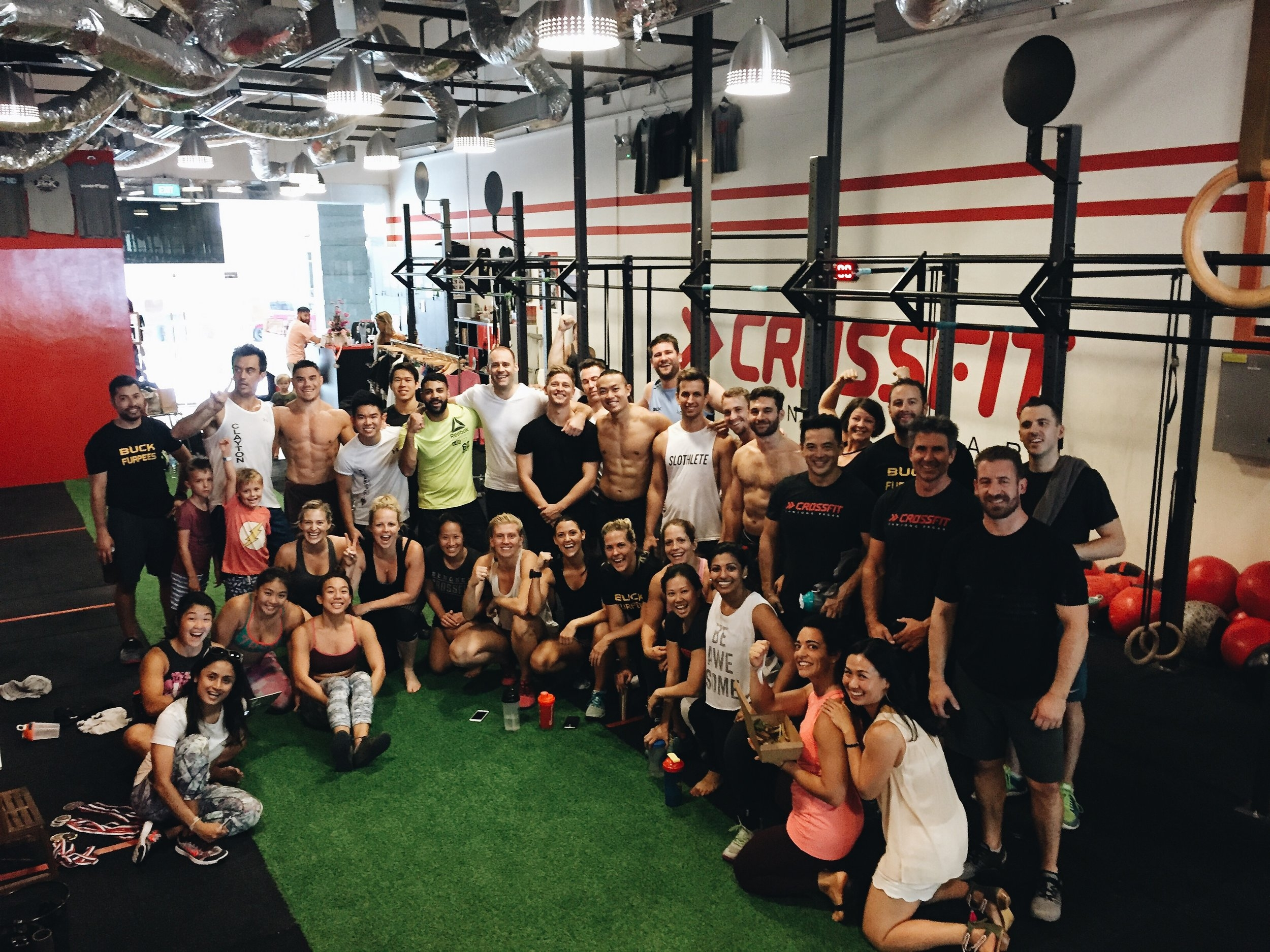 WELCOME TO CROSSFIT TANJONG PAGAR   Singapore's premium CrossFit box in the CBD!   BOOK A FREE TRIAL   LEARN MORE