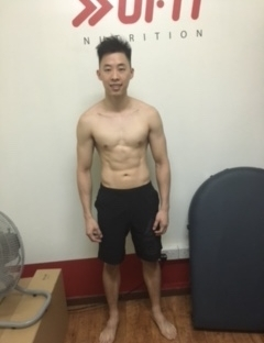 May 12 2017  Body Fat 14.37% Weight 61.2kg