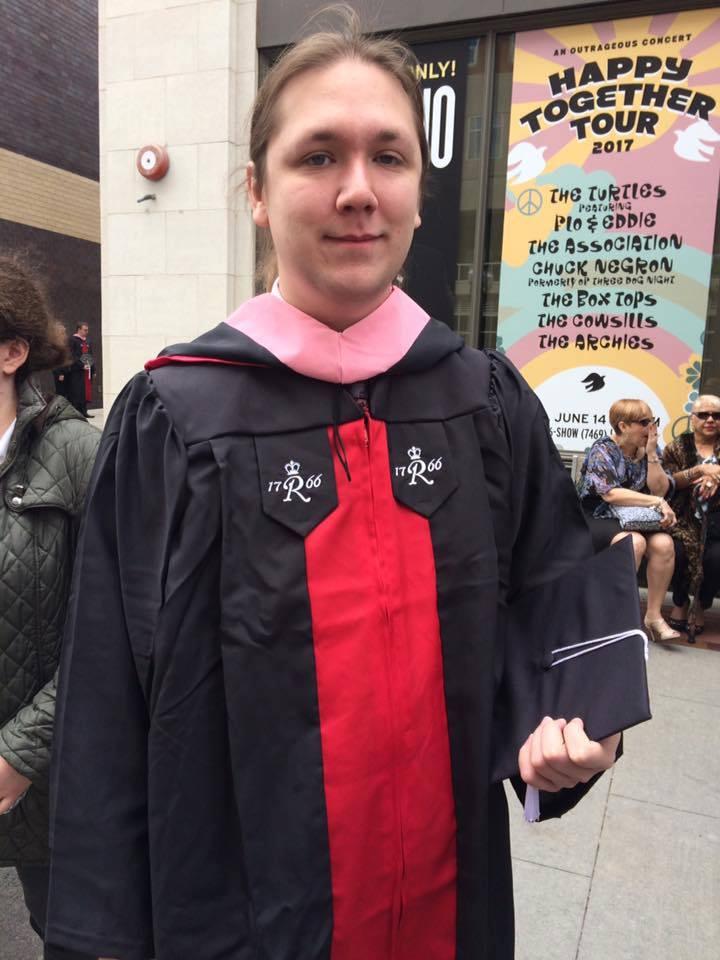 I graduated Rutgers!
