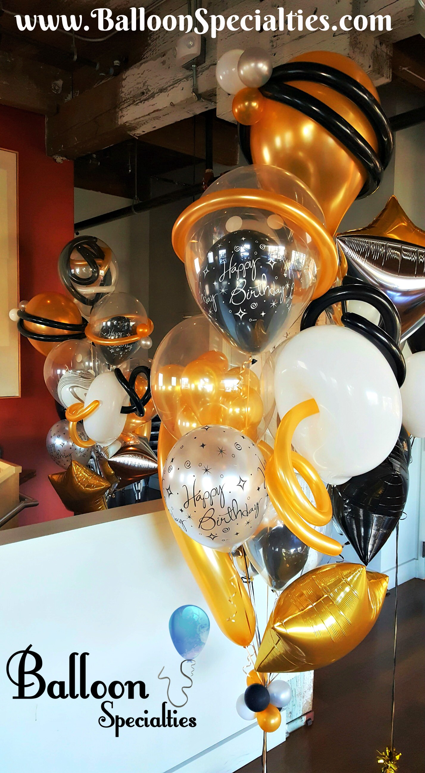 Gold Black Clear Chic Specialty Bouquet Branded.jpg