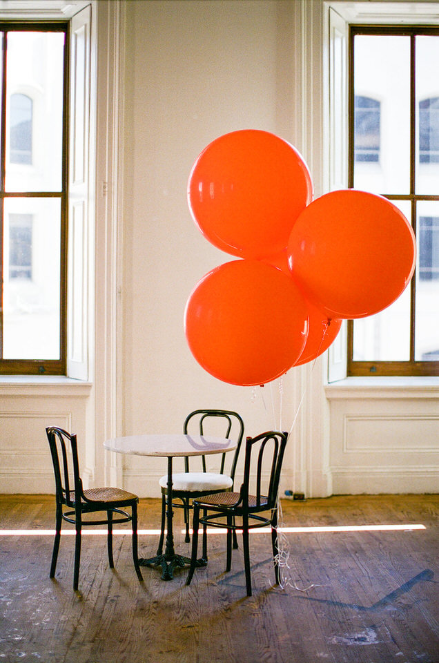 Orange Jumbo 3 Foot Balloons SF.jpg